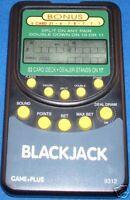 GAME + PLUS BLACKJACK ELECTRONIC HANDHELD BLACK JACK CASINO CARD TRAVEL POCKET