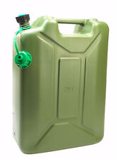 New Plastic 20 Liter / 5 Gallon Jerry Can, Military water can with spout, OD