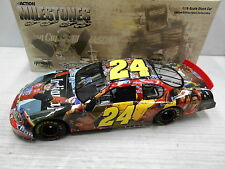 ACTION  1/18 CASE OF 6 JEFF GORDON MILESTONES 4X INDY WIN 2005 MONTE CARLO MIB