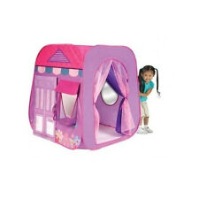 Princess Party Boutique Play Hut Tent House Kids Girls Fun Indoor Outdoor Pop Up
