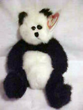 Plush Panda Teddy Bear New Checkers Ty Attic Treasure