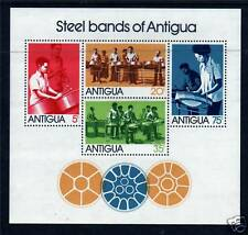 Antigua 1974 Steel Bands MS SG398 MNH