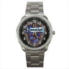 Harry Potter Ravenclaw Calidad deporte Metal reloj de pulsera De Regalo