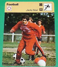 FOOTBALL JACKY NOVI 1978 FRANCE NIMES OLYMPIQUE MARSEILLE PARIS SAINT-GERMAIN