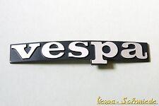 VESPA Emblema LETRAS - PK XL XL2 PX Lusso - Protector De Pierna Negro Cromo