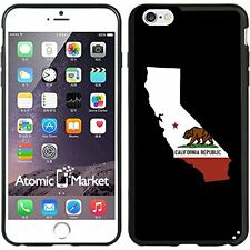 California State Flag Outline For Iphone 6 Plus 5.5 Inch Case Cover