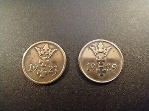 Danzig 2 coins