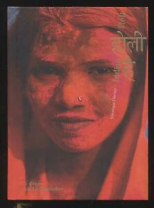 Libro Indian Holi V.Durruty Foto Francese/Inglese