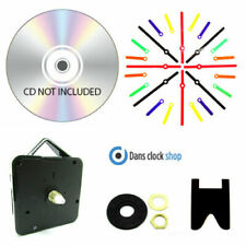 New 25 Pack CD/DVD Clock Making Kits Design Your Own CD clock School Projects