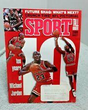New listing Sport Magazine December 1993 Michaeil Jordan Bulls GOOD