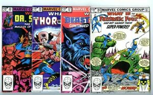 What If (1977 series) #36,37,39,40 Avg NM New Marvel Collection