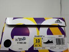 Adidas Women UltraBoost Black White Sneakers Running S80682