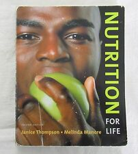 Nutrition for Life by Janice Thompson and Melinda Manore (2009, Paperback)