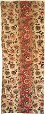 Charming 19th C. French Cotton Chintz Floral Fabric (2933)