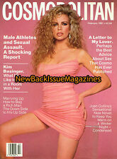 Cosmopolitan 2/91,Kim Basinger,February 1991,NEW