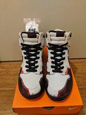 2005 Nike Dunk High Pro SB Melvins White Black Red Melvin size 10
