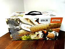 STIHL GTA 26 Chainsaw Cordless Kit w AS2 Lithium Battery + Charger Oil Case NEW