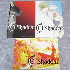 EL SHADDAI Lot of 3 Postcard Set Art Illustration Japan Book PS3 Ltd RARE