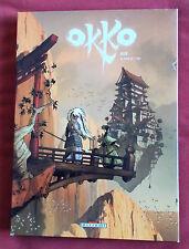OKKO  LE CYCLE DE L'EAU INTEGRALE  HUB  2 VOLUMES SOUS ETUI  TOME 2 EO  DELCOURT