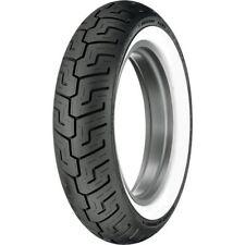 150/80B-16 Dunlop Harley-Davidson D401 Wide White Wall Rear Tire