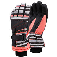 Mens Womens Waterproof Touchscreen 3M Thinsulate Lined Ski Gloves