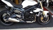 Triumph Street Triple 675  2013 reg bike  6474 miles only one local owner