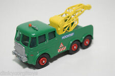 MATCHBOX KINGSIZE 12 FODEN BREAKDOWN TRACTOR GREEN EXCELLENT CONDITION REPAINT