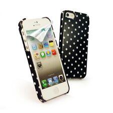 TuffLuv Shell Case Polka Hot Cover Schutz Hülle in Schwarz für Apple iPhone 5S