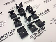 Ford Capri MK3 nouvelle porte ceinture/Grattoir Joint Clips x10