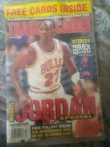 NEW TRADING CARDS MAGAZINE Michael Jordan Special. March 1996.