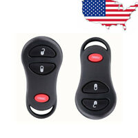 FikeyPro Remote Key Fob for 2013-2018 Dodge Ram 1500 2500 3500 3-Button GQ4-53T