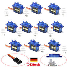 10pcs 9G SG90 Micro Servo Motor RC Auto Robot Helicopter Airplane Boat Controls