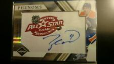 2010-11 Panini TAYLOR HALL PHENOMS Auto ALL STARS PATCH Limited Edition 257/299