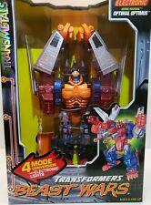 1998 Kenner Transformers Beast Wars Transmetals Optimal Optimus Open Box