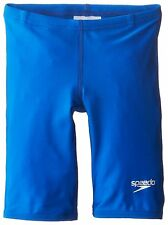 NWT Boys Youth SPEEDO Sapphire Blue Pro LT Racing Swim Jammers 20 MSRP $35
