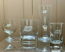 4-Piece Royal Viking Line Barware Set from Onboard Service - Excellent