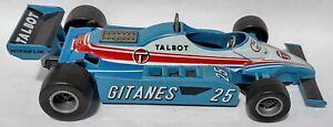 Vintage Mattel Super Hot Wheels Autoclub Indy Car - Talbot Gitanes JS 17 - Italy