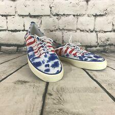 NWOT American Eagle Men's Shoes Casual Tennis Shoes Canvas Flag Patriotic Size 9
