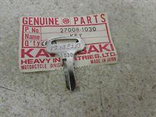 NOS 75-76 KAWASAKI KT250 KT 250 73-75 MC1 74-75 MC1M OEM BLANK KEY 27008-1030