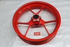 Original Felge Laufrad Vorderrad Rot Aprilia Tuono V4  RSV 4 1000 Shiver #R3160