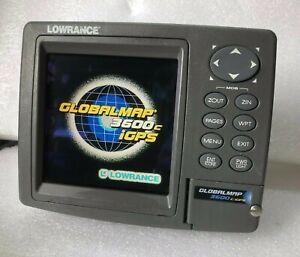Lowrance GlobalMap 3600C iGPS - navigator Built in GPS