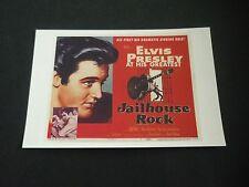 ELVIS PRESLEY Postcard, Metro Music MM87, ELVIS PRESLEY, JAILHOUSE ROCK