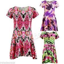 Vêtements courts à motif Floral pour fille de 2 à 16 ans