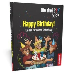 Die drei Fragezeichen Kids - Happy Birthday! - personalisiertes Kinderbuch