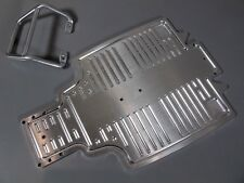 Aluminum Front Bumper Guard+chassis plate Tamiya 1/10 Sand Scorcher Champ Buggy