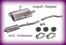 Abgasanlage Auspuff Schalldämpfer Peugeot 406 1.8 & 1.8 16V (8B) Stufenheck +Kit