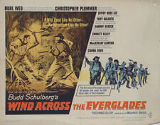 Burle Ives in Wind Across the Everglades, Poster