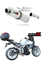 Exhaust silencer muffler DOMINATOR ROUND HYOSUNG GD 250 Exiv  + DB KILLER