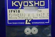 KYOSHO MEMBRANA IN TEFLON TORNITA PER AMMORTIZZATORI  SHOCK PISTON 1,6 ART IFW18