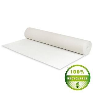 White Wedding Aisle Runner Carpet 100% Recyclable Indoor and Outdoor 1m wide